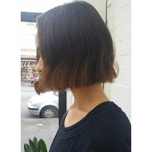 Blunt-Bob-Haircut Nice Short Hairstyle Ideas for Teen Girls