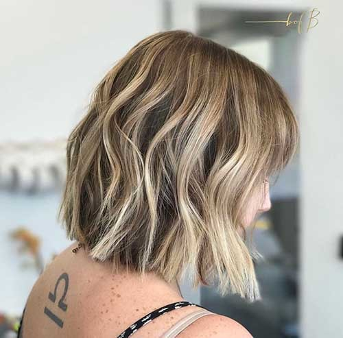 Blunt-Bob-with-Balayage Cool Short Hairstyles You Can Rock This Summer