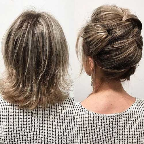 Bob-Cut-Updo Best Short Hairstyles for Wedding You Should See