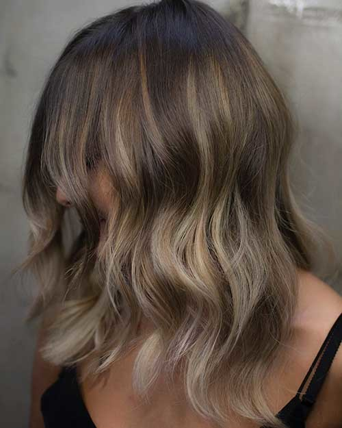 Bob-Hairstyle-with-Balayage Cool Short Hairstyles You Can Rock This Summer