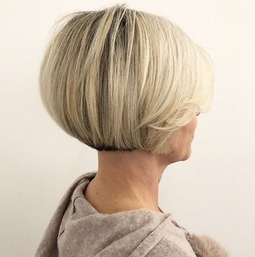 Chic-Short-Bob-Cut Various Short Blonde Bob Hairstyles