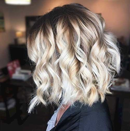 Choppy-Layers Most Magnetizing Hairstyles for Curly and Wavy Hair