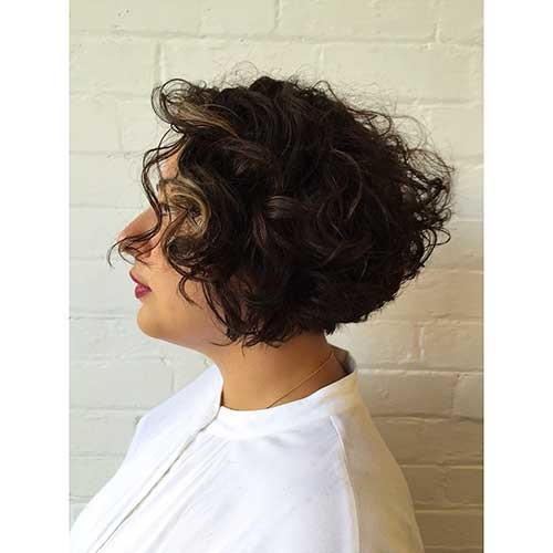Curly-Bob-Hair Most Magnetizing Hairstyles for Curly and Wavy Hair