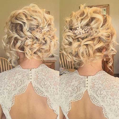 Cute-Curls Best Short Hairstyles for Wedding You Should See