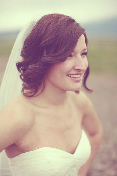 Cute-wedding-hair-for-short-hair Short Wedding Hair Ideas