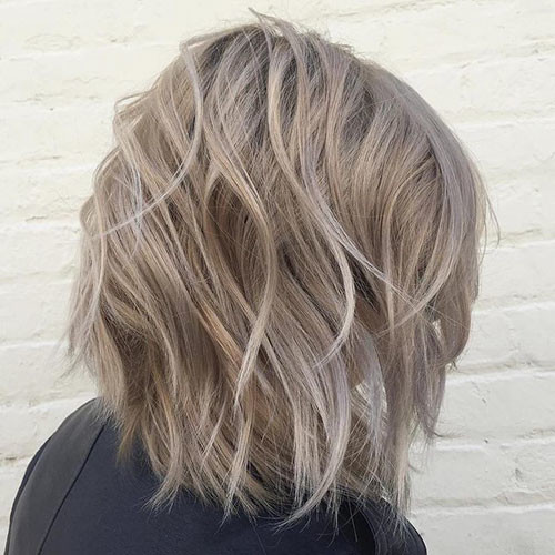 Dark-Ash New Ash Blonde Short Hair Ideas