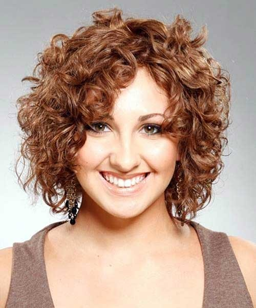 Easy-Curly-Short-Haircut Easy Hairstyles For Short Curly Hair