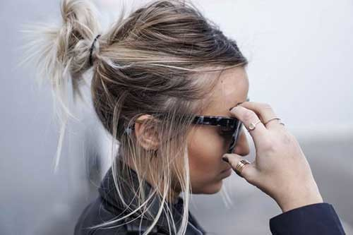Easy-Short-Hair-for-Girls Simple Short Hairstyles for Pretty Women