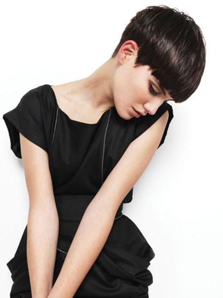 Edgy-Look Trendy Haircuts for Short Hair