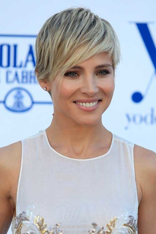 Elsa-Pataky's-Elegant-Long-Pixie-Hair Long Pixie Haircuts