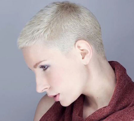 Extremely-Short-Hair Trendy Haircuts for Short Hair