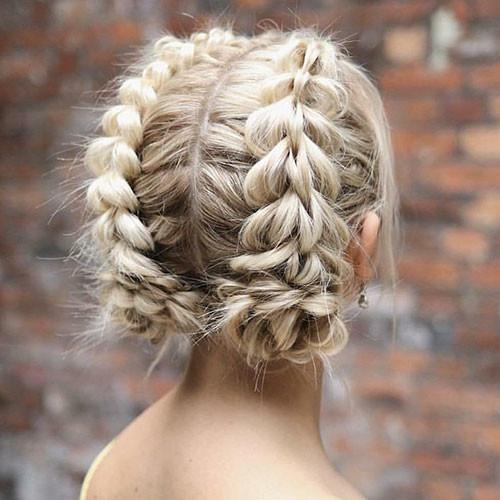 French-Braid-Styles-for-Short-Hair Best French Braid Short Hair Ideas 2019