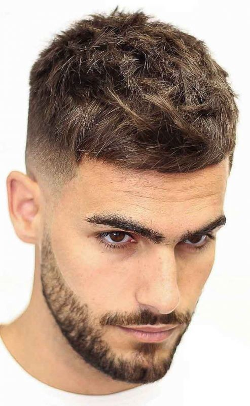 French-Crop Men's Hair Trends That Aren't The Fade