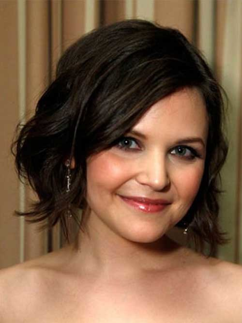 Ginnifer-Goodwin-Short-Hair Best Must-Try Brunette Bob Haircuts