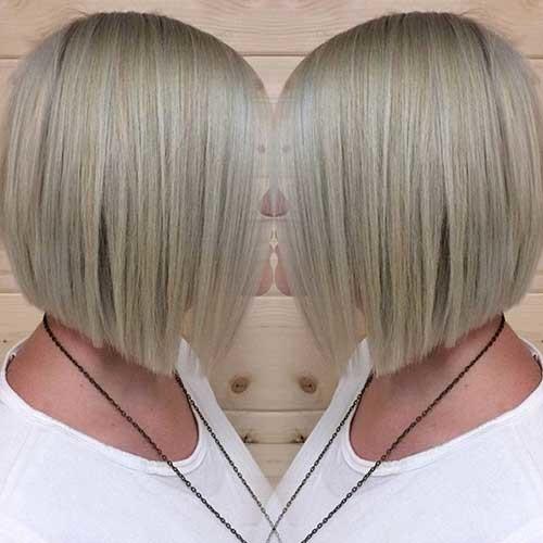 Inverted-Bob-2 Short Haircut Pics for Straight Hair