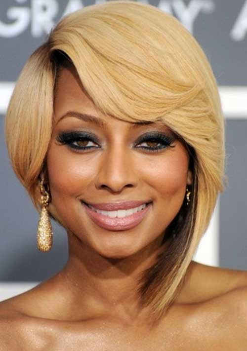 Keri-Hilson-Blonde-Layered-Nice-Bob-Hair Keri Hilson Blonde Bob Hairstyles