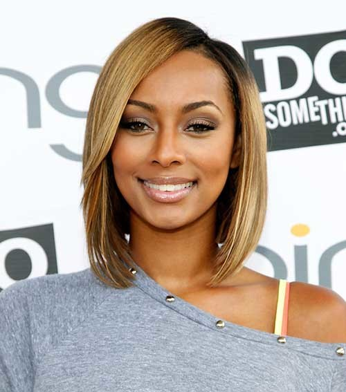 Keri-Hilson-Blonde-Straight-Bob-Hairstyle-with-Layered-Long-Bangs Keri Hilson Blonde Bob Hairstyles