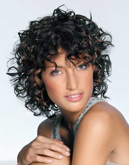 Latest-Curly-Short-Hairstyles-4 Latest Curly Short Hairstyles 2019
