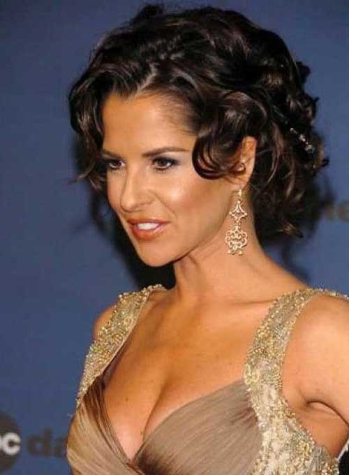 Latest-Curly-Short-Hairstyles-8 Latest Curly Short Hairstyles 2019