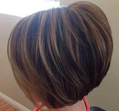 Layered-Short-Stacked-Thick-Haircut Short stacked haircut