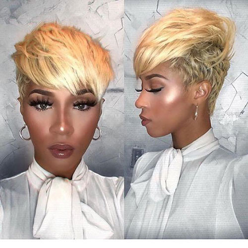 Long-Blonde-Pixie Best Pixie Cuts for Blonde Hair