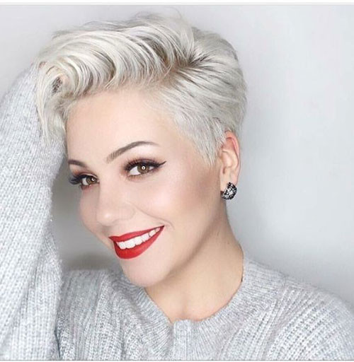 Longer-Pixie-Cut-2019 Sweet and Sexy Pixie Hairstyles for Women