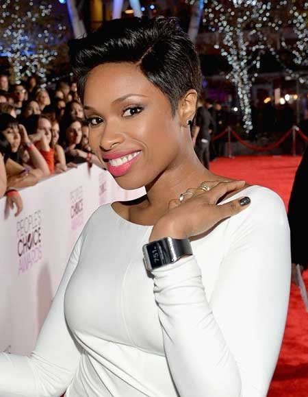 Lovely-and-Attractive-Sleek-Pixie-Cut The best short haircuts for black women