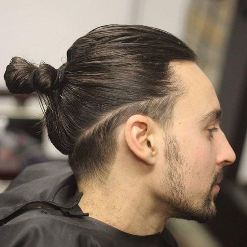 Man-Bun Men's Hair Trends That Aren't The Fade