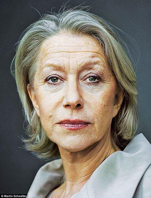 Martin-Schoeller Best Short Haircuts for Women Over 50
