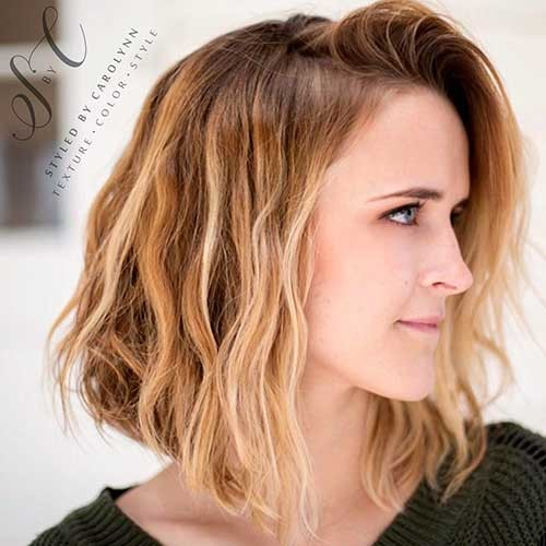 Messy-Bob-Hairstyle Cool Short Hairstyles You Can Rock This Summer
