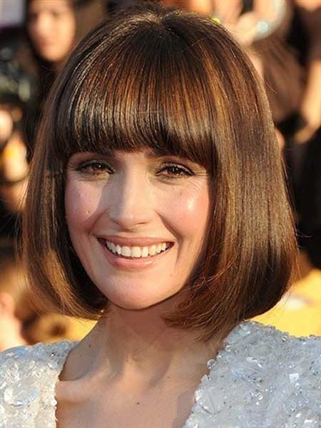 New-Short-Celebrity-Haircuts-Rose-Byrne New Short Celebrity Haircuts 2019