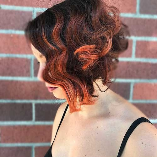 New-Short-Curly-Hairstyle-for-Women Most Magnetizing Hairstyles for Curly and Wavy Hair