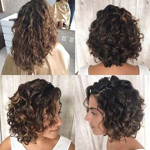 New-Short-Hair Very Popular Curly Short Hairstyles Every Lady Need to See