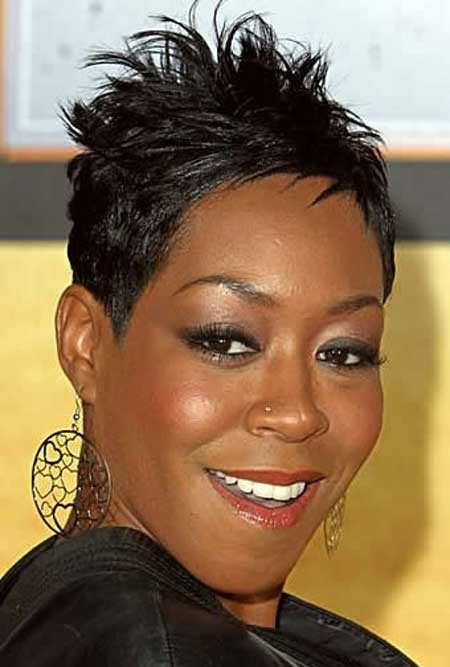 Nice-and-Charming-Pixie-Cut-with-Spikes The best short haircuts for black women