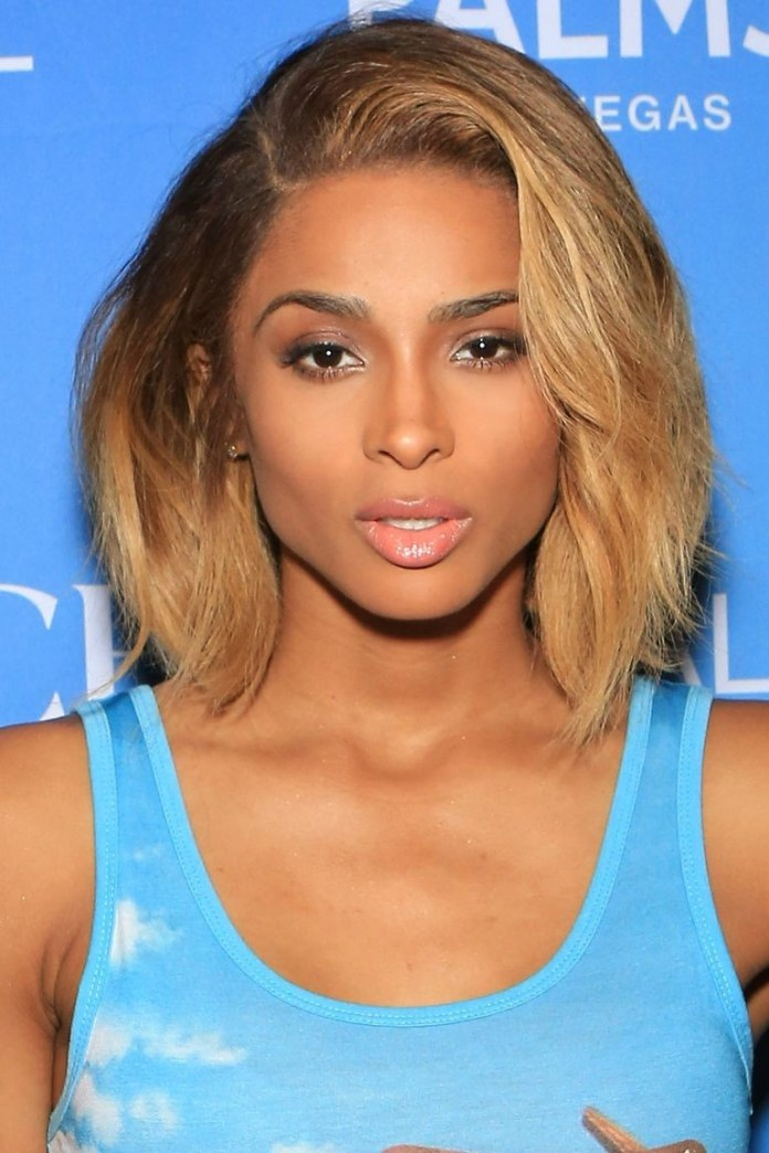 Ombre-Lob Best Short Hairstyles for Black Women