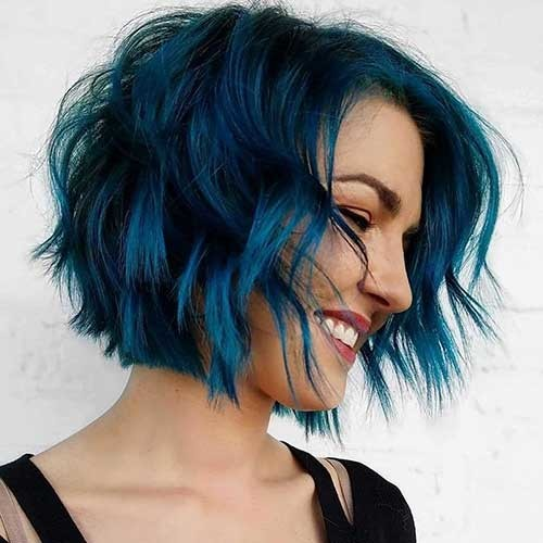 Short-Blue-Hair-1 Best Hairstyle Ideas for Short Hair