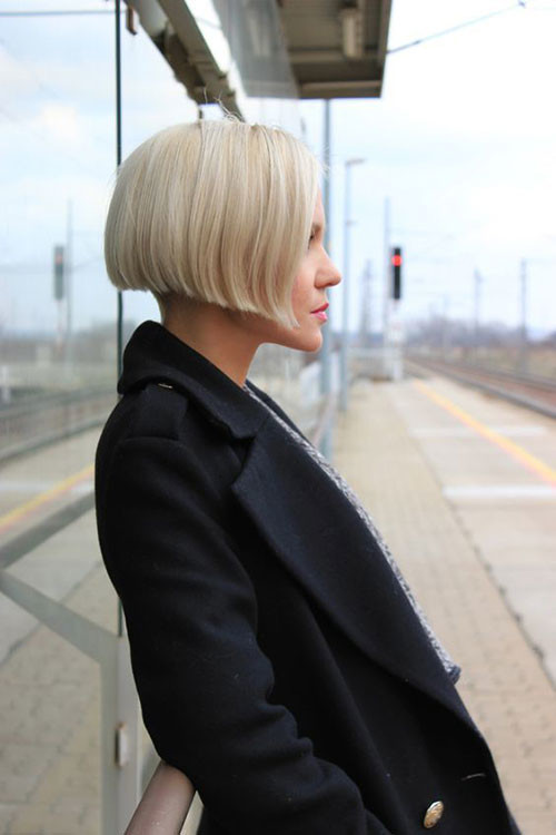 Short-Blunt-Bob Various Short Blonde Bob Hairstyles