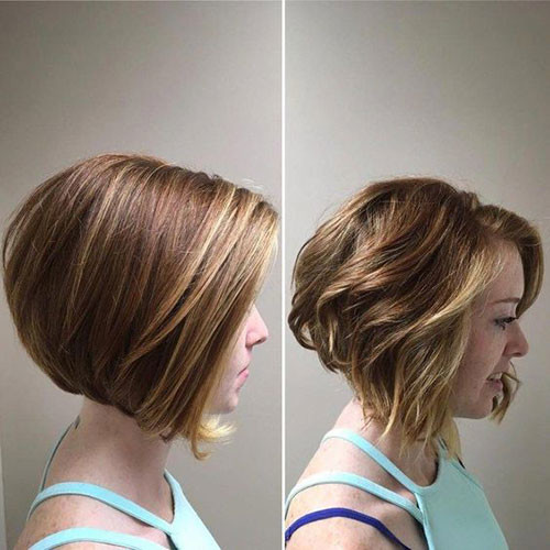 Short-Bob-Haircut Elegant Short Haircuts for Thick Hair