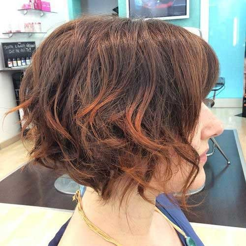 Short-Bob-Wavy-Hairstyle-for-Women Short Bob Hairstyles for Women