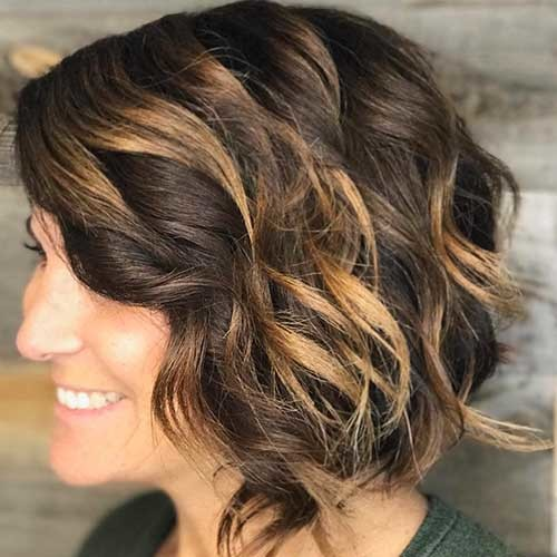 Short-Curly-Hairstyle-for-Women Most Magnetizing Hairstyles for Curly and Wavy Hair
