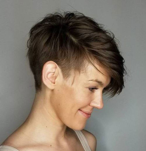 Short-Hairstyle-for-Brown-Hair Short Brown Hairstyles for Fashionable Women