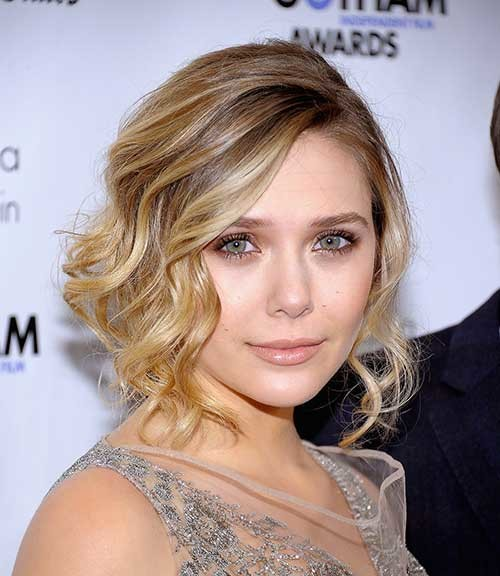 Short-Hairstyle-for-Wavy-Hair-and-Round-Face Short Wavy Hairstyles for Round Faces