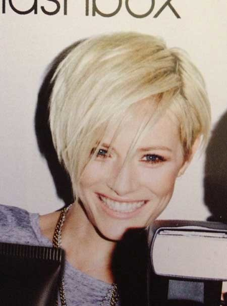 Short-Messy-Layered-Blonde-Bob-1 Short blonde hairstyles
