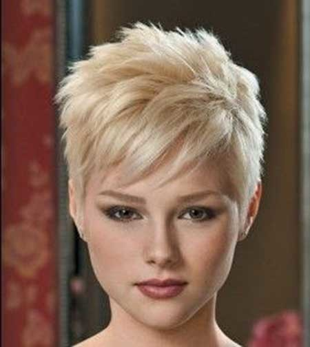 Short-Messy-Rebellious-Blonde-Hair Short blonde hairstyles