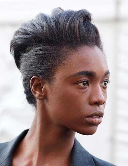 Short-Straight-Different-Hair Hairstyles for Black Women with Short Hair