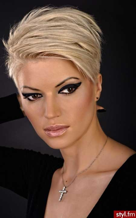 Short-Strong-Thick-Beautiful-Hair Short blonde hairstyles