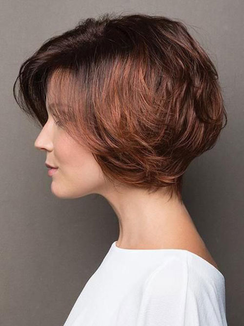 Short-Thick-Hair-Cut Elegant Short Haircuts for Thick Hair