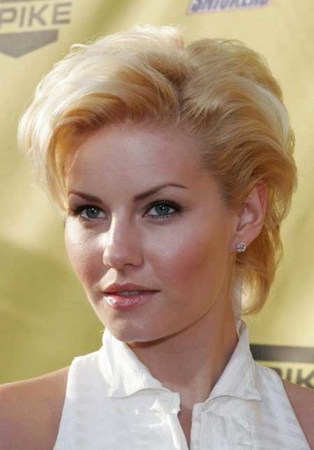 Short-Vintage-Blonde-Hairstyle Short blonde hairstyles
