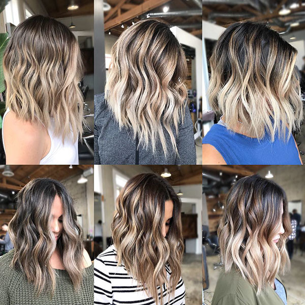 Short-Wavy-Bob New Short Wavy Hair Ideas in 2019