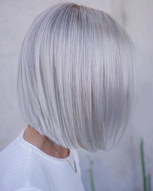 Short-White-Hairstyle-1 New Short White Hair Ideas 2019